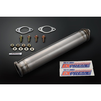 TOMEI EXPREME Ti TITANIUM CAT STRAIGHT PIPE for EVO7-9 4G63