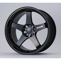 RAYS Nismo LMGT4 19x9.5 +15 pcd 5-114.3 Black NISMO engrave 4030s-rsr48bk