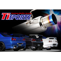 Ti SPORTS TITANIUM MUFFLER for BNR32/BNR33/BNR34 RB26DETT