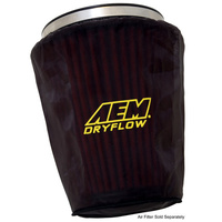 "AEM Air Filter Wrap PREFILTER 7-1/2"" BASE, 5"" TOP, 9"" TALL 1-4003"