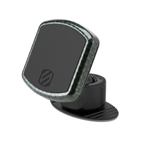 AFE Magnetic Dash Mount with Interchangeable Trims (Carbon Fiber Gloss Finish), by Scosche. 77-90002-C