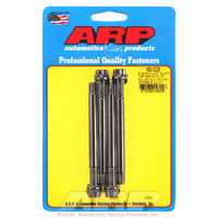 ARP FOR 5/16-24 X 4.000 blk 12pt water pump pulley w/ 2.750 fan spacer stud kit