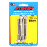 ARP FOR 5/16-24 X 3.000 SS hex water pump pulley w/ 1.750  fan spacer stud kit