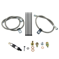 FP OIL FEED LINE KIT TO SUIT JORNAL BEARING TURBOCHARGERS (EVO 4-9)