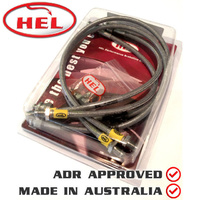 HEL Brake Lines KIT For Alfa Romeo 155 2.0 Twin Spark ABS(1992-1995)ALF-4-048