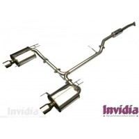 Invidia Q300 Cat back Exhaust Honda Accord EURO/TSX