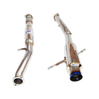 Invidia N1 Cat back Exhaust suit GC8 WRX 94-00