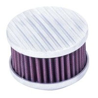 K&N Round Air Filter Assembly-Special Order 2-5/8FLG, 4OD, 2-1/4H 60-0410