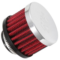 K&N Vent Air Filter/ Breather For 3/4ID CLAMP-ON VENT,2D,1.5H 62-1360