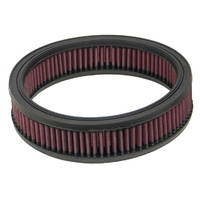 K&N Round Air Filter For 9OD  7-1/2ID  2H E-3510