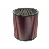K&N Round Air Filter For 9OD 7-1/2ID 9H W/INNER WIRE E-3659