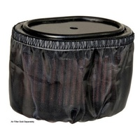 K&N Air Filter Wrap For DRYCHARGER WRAP E-4516, BLACK E-4516DK