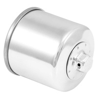 K&N Oil Filter For POWERSPORTS CANISTER CHROME KN-138C