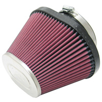 K&N Uni Clamp-On Air Filter For 99.5MM FLG, 191MM B X 113MM T, 161MM H RC-1680