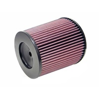 K&N Uni Clamp-On Air Filter 4-1/2FLG, 8B, 6-5/8T, 8H, 21/32ID CENTER RC-5142