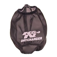 K&N Air Filter Wrap For DRYCHARGER WRAP RC-9310,BLACK, CUSTOM RC-9310DK