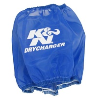 K&N Air Filter Wrap For DRYCHARGER WRAP RF-1001, BLUE RF-1001DL