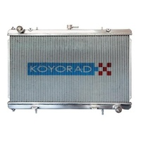 "KOYO All Aluminum Radiator FOR NISSAN SILVIA ""N-FLO"" Dual Pass 94-02"