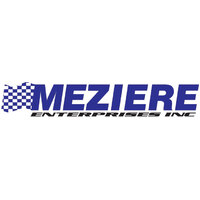 Meziere Electric Water Pump for Chevy SB, 35GPM Standard Motor - Chrome