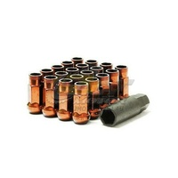 Muteki SR48 Open Ended Lug Nuts Orange(12 x 1.5) - 32906O