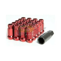 Muteki SR48 Open Ended Lug Nuts Red(12 x 1.5) - 32906R