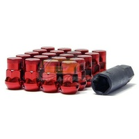 Muteki SR35 Lug Nuts Closed End Red(12 x 1.25) - 32925RP