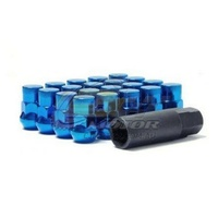 Muteki SR35 Lug Nuts Closed End Blue(12 x 1.25) - 32925UP