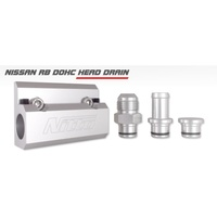 NITTO CYLINDER RB SERIES DOHC HEAD DRAINS WITH 5/8 HOSE FITTING