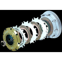 ORC 1000 SERIES TRIPLE PLATE CLUTCH KIT FOR BNR32 (RB26DETT)