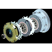 ORC  559 SERIES TWIN PLATE CLUTCH KIT FOR EVO 8 CT9A (4G63)ORC-P559D-MB0101