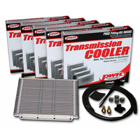 PWR Transmission Oil Cooler Kit 280x255x19mm (3/8 Barb) PWO5389