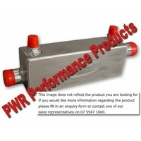 PWR In-Line Engine Oil Cooler 2in x 3in x 12in - 38mm PWO5996