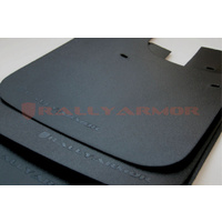 Rally Armor for Basic Mud Flap BLK Logo 1993-2001