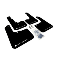 Rally Armor for Dodge Dart Mud Flaps White Logo 2013+