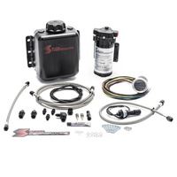 Stage 2 Boost Cooler Water/Meth Kit w/Gauge Controller-Braided Hose