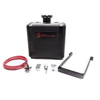 Snow Performance 7 Gallon Water-Methanol Tank Kit w/Solenoid - Nylon Hose