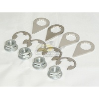 Stage 8 Fasteners, M8 x 1.25 Nut & Lock Kit