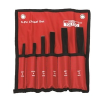TOLEDO Chisel Set - Heavy Duty 6 Pc.