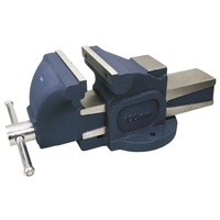 TOLEDO Bench Vice Fixed Base Straight Cast Iron - 200mm