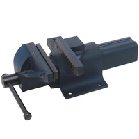 TOLEDO Bench Vice Fixed Base Offset Steel - 200mm