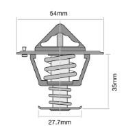 BF DOHC V8 BA 32V 01//03-04//08 5.4L TRIDON HF Thermostat For Ford Falcon