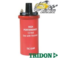 TRIDON IGNITION COIL FOR Chrysler  Galant GA - GD 08/71-06/77, 4, 1.3L-1.6L