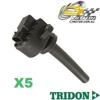 TRIDON IGNITION COIL x5 FOR Holden  Frontera UES25 01/01-01/04, V6, 3.2L 6VD1