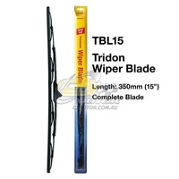 TRIDON WIPER COMPLETE BLADE DRVIER FOR BMW 2002,2500,2800 1968-1976  15inch