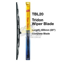 TRIDON WIPER COMPLETE BLADE DRVIER FOR BMW 3Series-E30 05/83-03/91  20inch