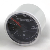 TURBOSMART Boost Gauge - Electric - 0-30PSI TS-0701-1011
