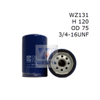 WESFIL OIL FILTER - WZ131