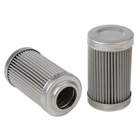 AEROMOTIVE 100-M Stainless Element: ORB-10 Filter Housings(12604)