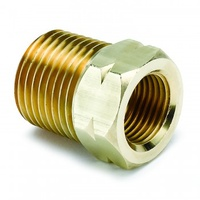 "AUTOMETER FITTING, ADAPTER, 1/2"" NPT MALE, BRASS, FOR AUTO GAGE MECH. TEMP."