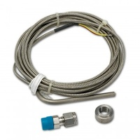 "THERMOCOUPLE KIT,TYPE K,3/16"" DIA,OPEN TIP,10 FT,+ STAINLESS COMP.+WELD BOSS"